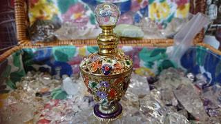 綺麗な香水瓶の写真・画像素材[1189776]