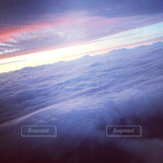飛行機に乗って見る風景の写真・画像素材[1191530]