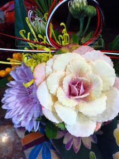 色とりどりの花のグループの写真・画像素材[1189154]