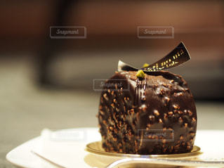 チョコレートケーキの写真・画像素材[1190859]