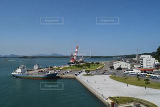 三角港の写真・画像素材[1193992]