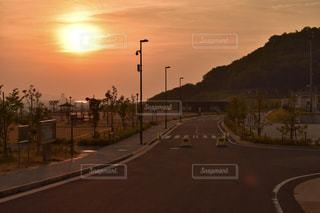 夕陽の写真・画像素材[1280252]