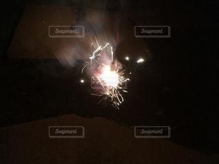 手持ち花火の写真・画像素材[1192797]