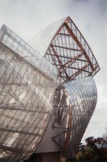 Fondation Louis Vuitton 美術館の写真・画像素材[1193542]