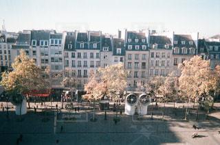 ポンピドゥーセンターからの眺めの写真・画像素材[1193547]