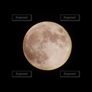 月のアップの写真・画像素材[1198311]