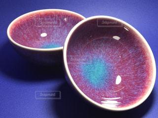 鈞窯茶碗の写真・画像素材[1199114]