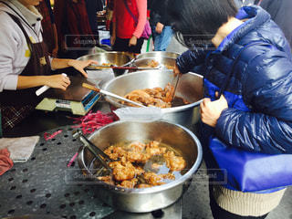 台湾の伝統市場の写真・画像素材[1199139]