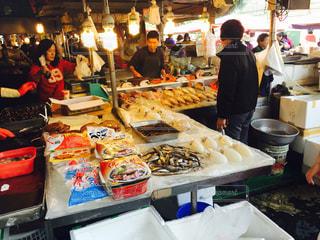 台湾の伝統市場の写真・画像素材[1199140]