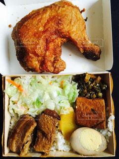 台湾のお弁当の写真・画像素材[1200321]