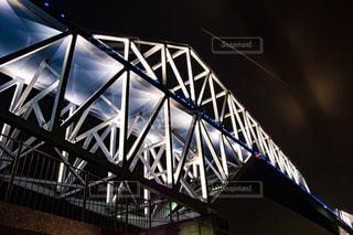 近くの橋の上の写真・画像素材[1249065]