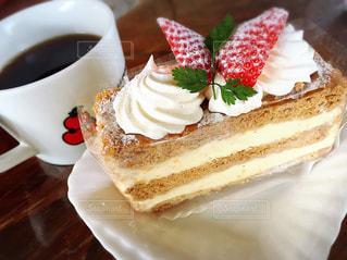 大好きな食べ物とコーヒー - No.1194307
