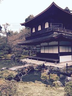 京都銀閣寺の写真・画像素材[1195168]