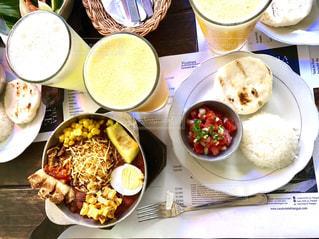 コロンビア料理の写真・画像素材[1195403]