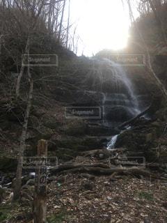 九段の滝の写真・画像素材[1195242]