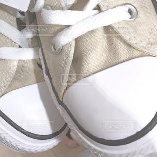 靴のアップの写真・画像素材[1855857]