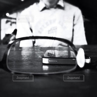 レンズ越しのレンズ越しの写真・画像素材[1207597]