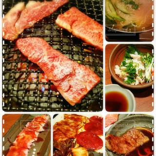 国産牛焼肉の写真・画像素材[1195599]
