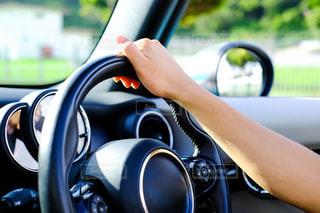 運転中イメージ写真の写真・画像素材[1709717]