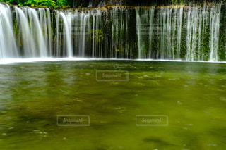 白糸の滝の写真・画像素材[1709902]
