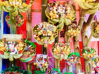 色とりどりの花のグループの写真・画像素材[1201731]