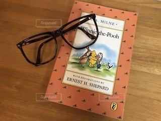 洋書とメガネの写真・画像素材[1243822]