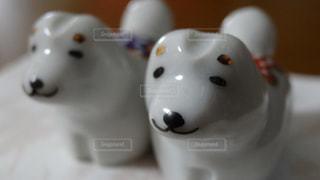 犬の箸置きの写真・画像素材[1257517]
