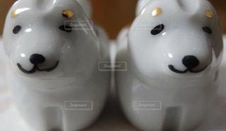 犬の箸置きの写真・画像素材[1259507]