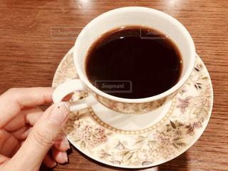 かわいいコーヒーカップの写真・画像素材[1382874]