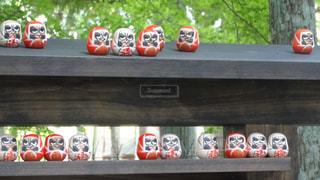 瑞巌寺のおみくじの写真・画像素材[1384893]