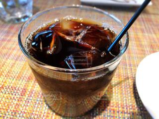 アイスコーヒーの写真・画像素材[1388713]