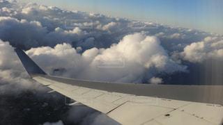 グアム上空の写真・画像素材[1709770]