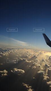 グアム上空の写真・画像素材[1709772]