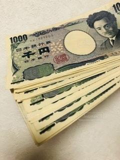 1000円札いっぱいの写真・画像素材[2626935]