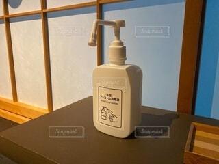 アルコール消毒液の写真・画像素材[3961470]