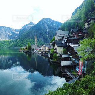 オーストリア_ハルシュタット028の写真・画像素材[1218708]