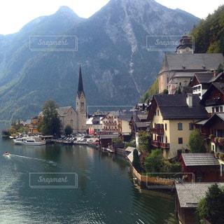 オーストリア_ハルシュタット013の写真・画像素材[1218725]