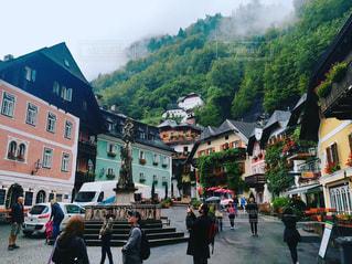 オーストリア_ハルシュタット010の写真・画像素材[1218729]