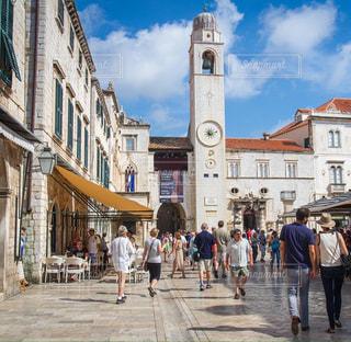 クロアチア_ドゥブロヴニク006の写真・画像素材[1220394]