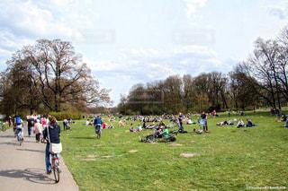 ドイツ_ベルリン_マウアーパーク020の写真・画像素材[1241360]