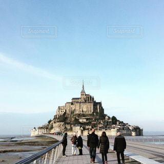 フランス_パリ_モンサンミッシェル008の写真・画像素材[1245245]