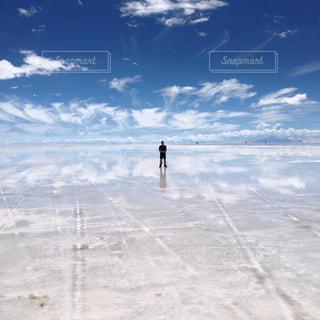 ボリビア_ウユニ塩湖002の写真・画像素材[1249789]