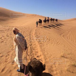 モロッコ_サハラ砂漠001の写真・画像素材[1250155]