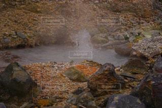間欠泉の写真・画像素材[1510715]