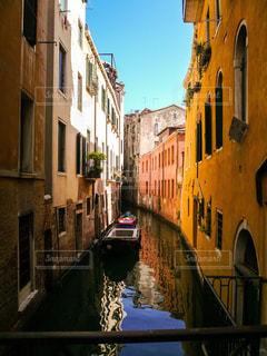 ヴェネツィアの小運河の写真・画像素材[1214396]