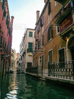 ヴェネツィア 小運河の写真・画像素材[1218413]