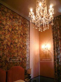 ヴェネツィアのホテルの客室の写真・画像素材[1218431]