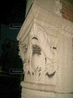 ヴェネツィア 柱の飾りの写真・画像素材[1218437]
