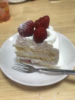 苺のケーキの写真・画像素材[1288775]