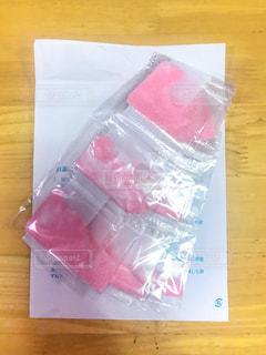 ピンクの粉薬の写真・画像素材[1366215]